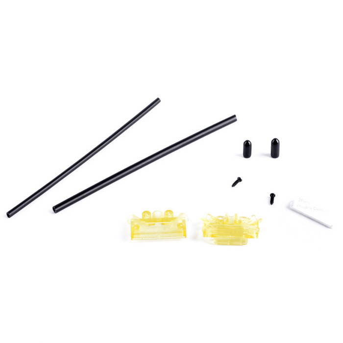 Receiver Antenna Fixing Base Mount Holder for RC Quadcopter - Yellow