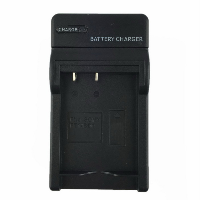 Camera Battery Car Charger for Sony FD1 & More - Black (US Plug)