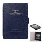 Classic Design Auto Sleep-kotelo Kindle Paperwhite 1/2/3 - Sininen