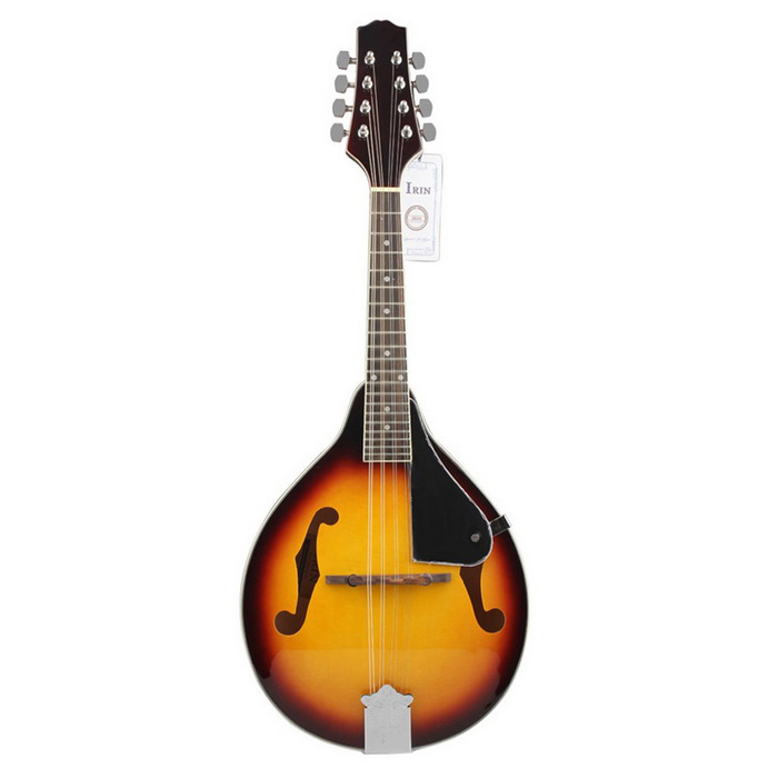Buy 8-String Basswood Mandolin Instrument w/ Rosewood Adjustable Bridge with Litecoins with Free Shipping on Gipsybee.com