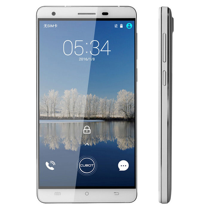 "CUBOT H2 Android 5.1 telefono 4G con 5.5 ""IPS, 3GB RAM, ROM 16GB - Bianco"
