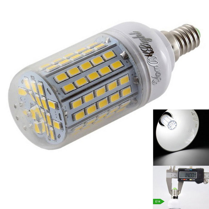YouOKLight E14 5.5W LED Corn Bulb Lamp Cold White 420lm 96-SMD 5730