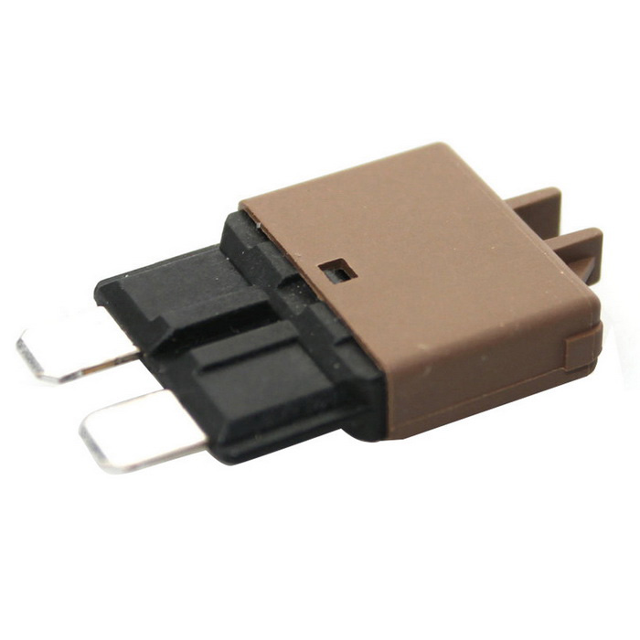 IZTOSS F446 Car Resettable 7.5A Circuit Breaker Blade Fuse -Dark Brown