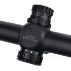 SHOOTER 4 ~ 16X 50 mm AOE červená / modrá / zelená Mil-Dot Optic Scope - Black