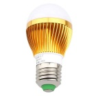 Vidhäft- HS01003D E27 3W Varmvit High Power LED-lampa (AC 85-265V)