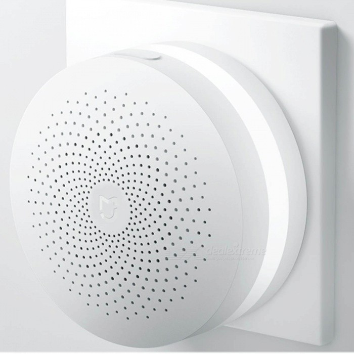 Xiaomi Smart Home Multifunctional GateWay - WhiteHome Smart Devices<br>Form  ColorWhite (GateWay)ModelDGNWG02LMQuantity1 DX.PCM.Model.AttributeModel.UnitMaterialABSRate Voltage100~240V ACPower AdapterAU PlugCertificationChina Quality Certification Center CQC certificate number: CMIIT ID:2016DP0274 CQC15001126021Other FeaturesWireless protocol: Wi-Fi 2.4 ZigBee, GHz; <br>Internet Radio live ;<br>16 million color night light ;<br>ringtone; <br>Connect to other intelligent devices ;<br>Remote controlPacking List1*GateWay1*User ManualChinese)1*Reset pin (for reset accessories sensor device)<br>