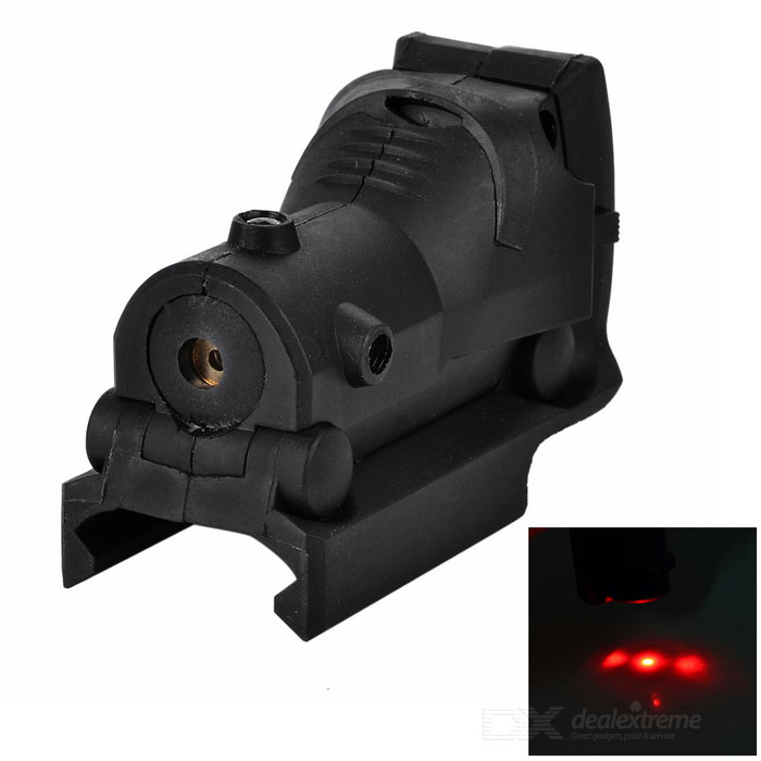 Pistol Mount Rail Red Laser for M92 - Black