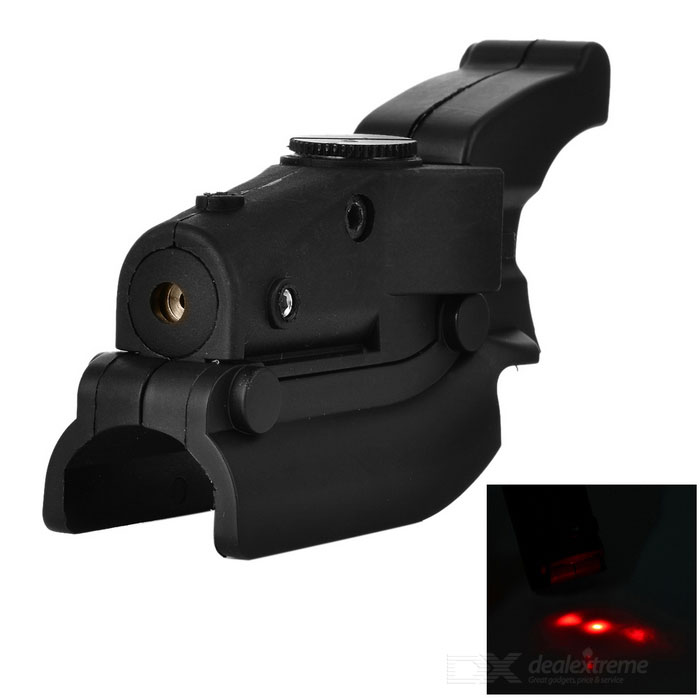 Pistol Trigger Guard Rød Laser for M92 - Svart
