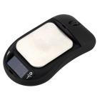 200g / 0,01 g Professional Mouse Shaped mini Digital Pocket Scale - Musta
