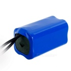 Outdoor 3.7V 8000mAh 18650 ladattava akku - Blue
