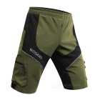 WOSAWE BC181-2XL Outdoor Sports Short Pants - Army Green + Black (XXL)
