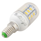 YouOKLight E14 2.5W LED Corn Bulb Lamp varm hvit 24-SMD 5730 (6pcs)