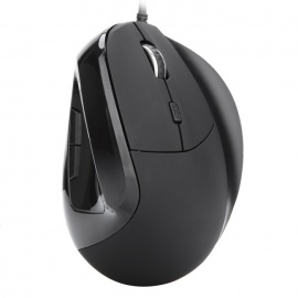 MODAO-W30-6-Key-USB-Wired-Vertical-Mouse-with-Finger-Support-Black