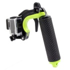 G-1050 Floating Handle Pole Grip for GoPro Hero 4 / 3+ - Black + Green