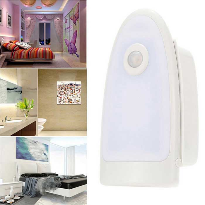 Body PIR Motion Induction Lighting Sensor Neutral White LED Light