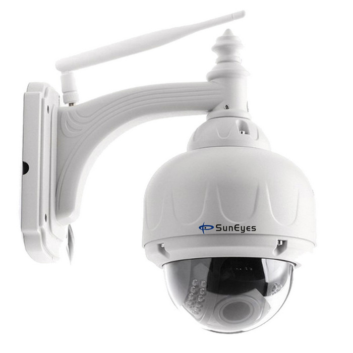 SunEyes SP-V706W Wireless PTZ Dome IP Camera Auto Focus