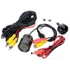 Drilling Universal External 28mm Car Rearview Camera - Black