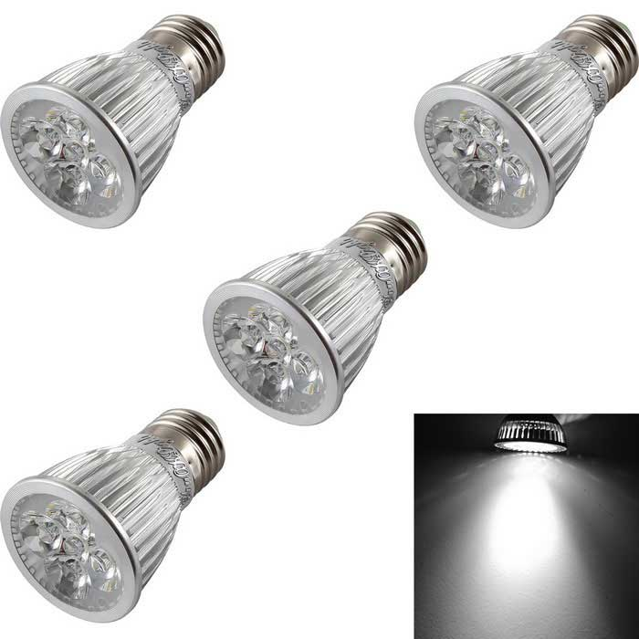 YouOKLight E27 5W Dimmable 5-LED Spotlight Cold White (220-240V/4PCS)