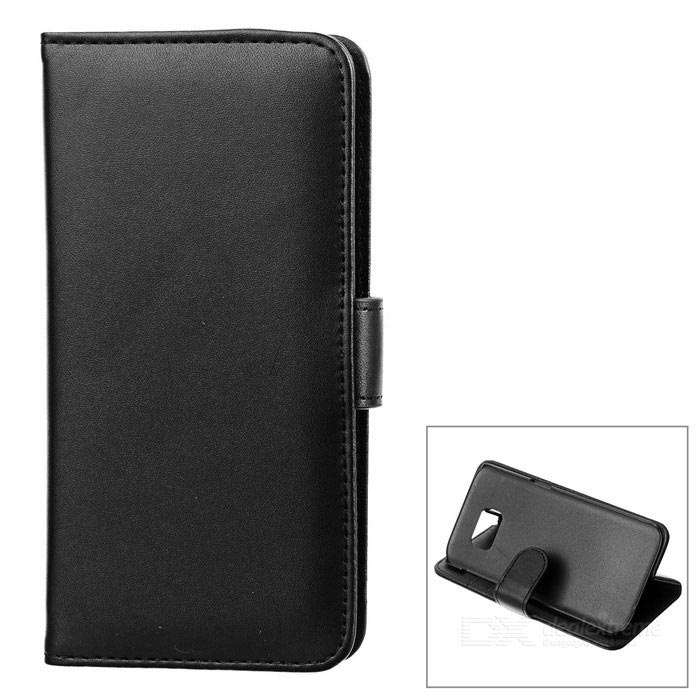 Protective PU Flip-Open Case for Samsung Galaxy S7 Edge - BlackLeather Cases<br>Form  ColorBlackModel-MaterialPU + ABSQuantity1 DX.PCM.Model.AttributeModel.UnitShade Of ColorBlackCompatible ModelsSamsung Galaxy S7 EdgePacking List1 * Case<br>