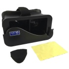 VR-88BVR3D DIY 3D Virtual Reality Google Glasses for IPHONE - Black