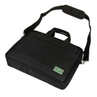 "EPGATE 15.6 ""Laptop väska / Crossbody Shoulder Messenger väska - Svart"