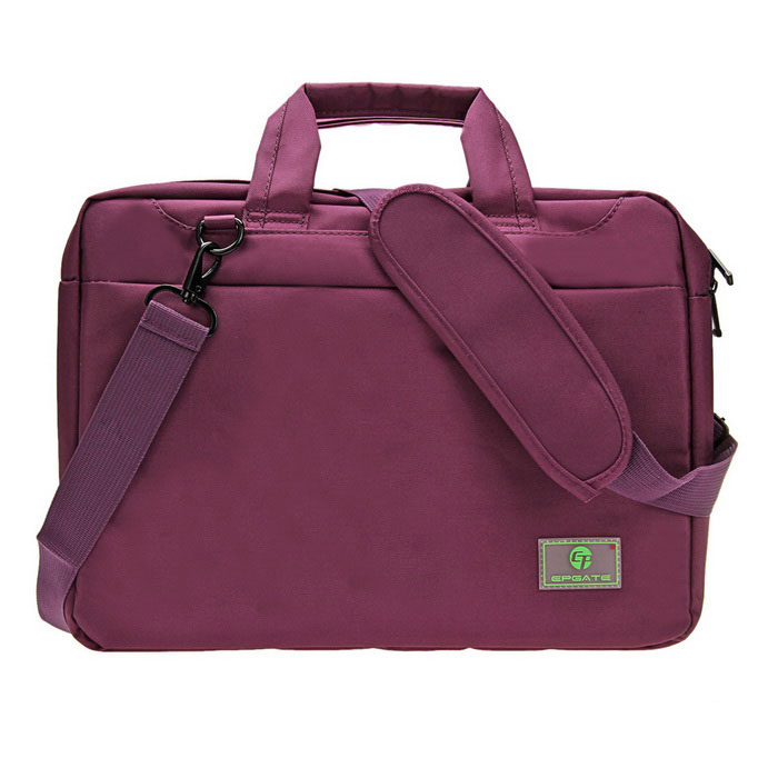 EPGATE 15.6 Shockproof Airba Laptop Bag Single Shoulder Bag - PurpleNetbook&amp;Laptop Cases<br>Form  ColorPurpleModelA00753Quantity1 DX.PCM.Model.AttributeModel.UnitShade Of ColorPurpleMaterialNylonCompatible ModelNo more than 15.6-inch laptopCompatible BrandAPPLE,Dell,HP,Toshiba,Acer,Lenovo,Samsung,MSI,Sony,IBM,Asus,Thinkpad,Huawei,GoogleTypeOthers,Laptop BagStyleBusiness,CasualCompatible SizeOthers,15.6 inchPacking List1*Portable Laptop bag1*Strap (110cm)<br>