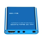 Mini Full HD 1080P Digital Streaming Media Player - Blue (US Plugs)