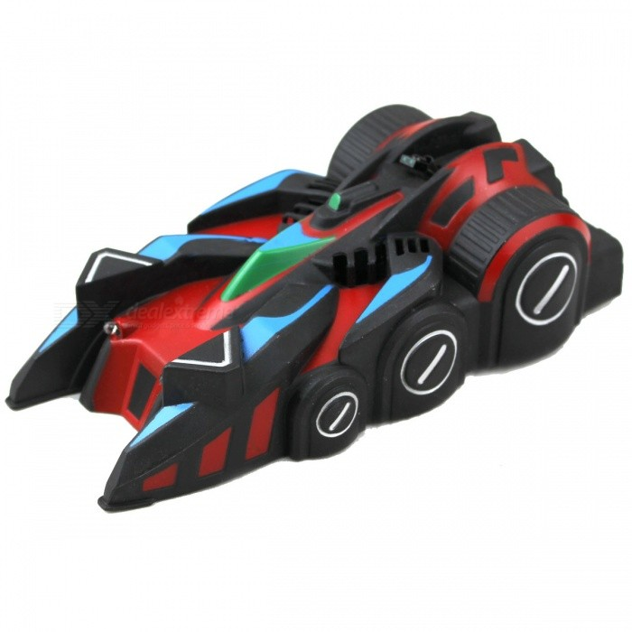 Remote Control 4-CH Climbing Stunt Car - Red + Blue + Black