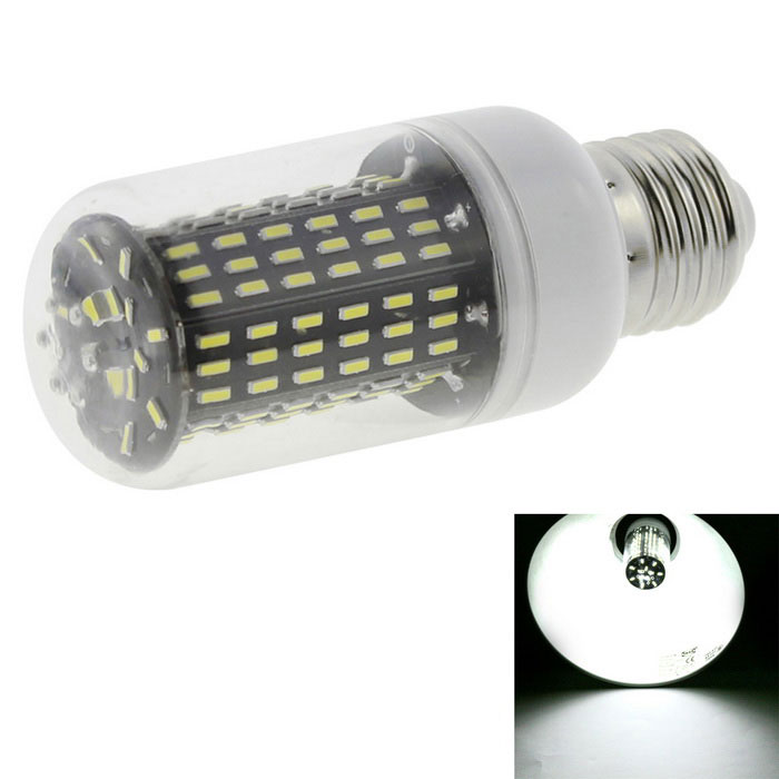 HONSCO E27 12W 138*4014 SMD LED Cold White Light Corn Bulb (AC 220V)