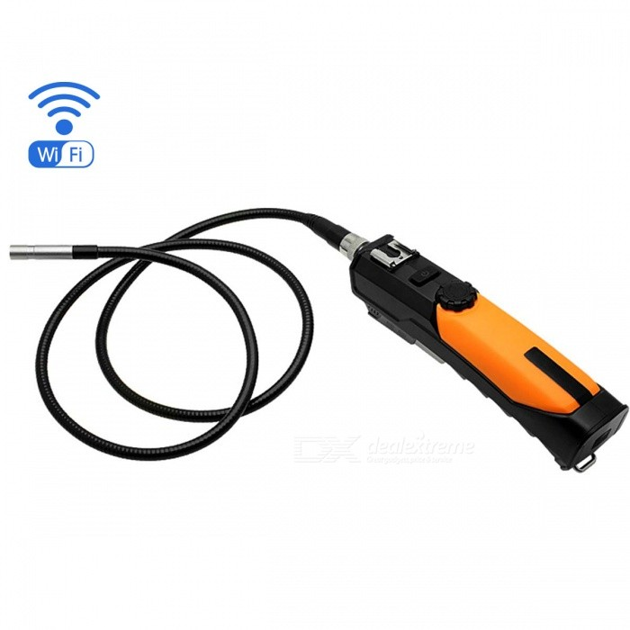 Wireless PC Mobile Phone 6-LED 8.2mm Inspection Camera Endoscope (1m)