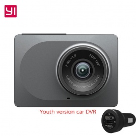 Xiaomi YI Smart Car DVR 165 Degree 1080P 60fps Car Detector 2.7quot Dash Camera ADAS Safe Reminder Dashcam