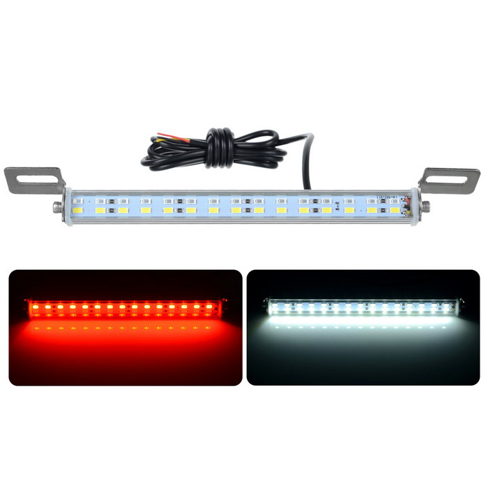 Exled 2-in-1 10W voiture LED inverser aide / feu de frein - rouge