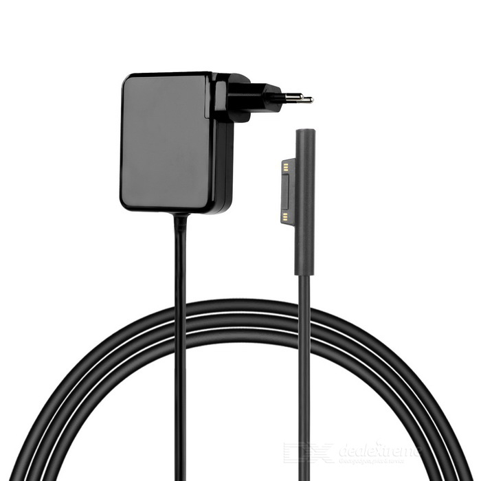 Charger Adapter for Microsoft Surface Pro4 / Surface Pro3 - Black (EU)Power Adapters<br>Form  ColorBlackQuantity1 DX.PCM.Model.AttributeModel.UnitShade Of ColorBlackMaterialABSTypeTabletsCompatible BrandOthers,MicrosoftCompatible ModelSurface Pro4 / Surface Pro3Power AdapterEU PlugTip DiameterOthers,SpecifiedInput Frequency- DX.PCM.Model.AttributeModel.UnitInput Voltage100~240 DX.PCM.Model.AttributeModel.UnitOutput Current2.58 DX.PCM.Model.AttributeModel.UnitOutput Voltage12 DX.PCM.Model.AttributeModel.UnitPacking List1 * Charger (Cable length: 142cm±2cm)<br>