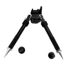 Quick Tatical Release Spring Loaded Bipod Rifle Stand for 20mm Gun