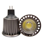 YouOKLight MR16 5W varmvit COB LED-strålkastare (AC / DC 12V / 2PCS)