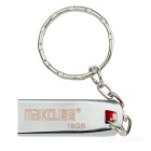 MAIKOU High Speed USB 2.0 Flash Drive w/ Key Ring - Silver (16GB)