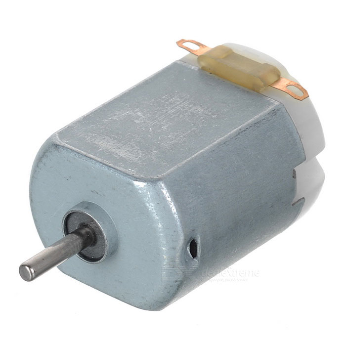 Buy DC 3V-6V DIY Motor Micro Motor for Four-wheel Car Fan Toy - Silver with Litecoins with Free Shipping on Gipsybee.com