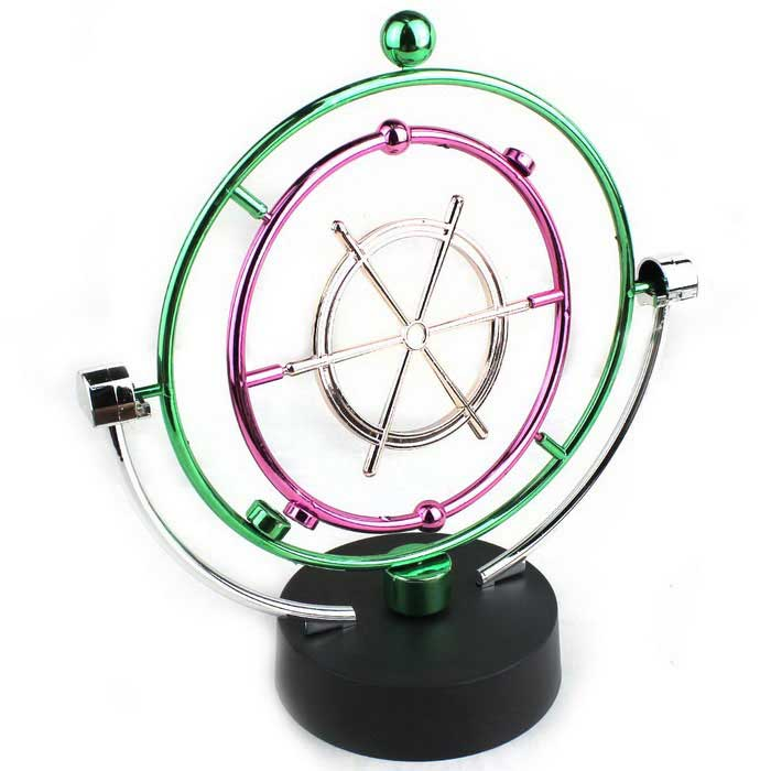 Rotating Celestial Globe Table Decoration - Black + Multi-Colored
