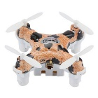 Cheerson CX-10D RC Quadcopter 2.4GHz 6-Axis med hög Hold - Leopard