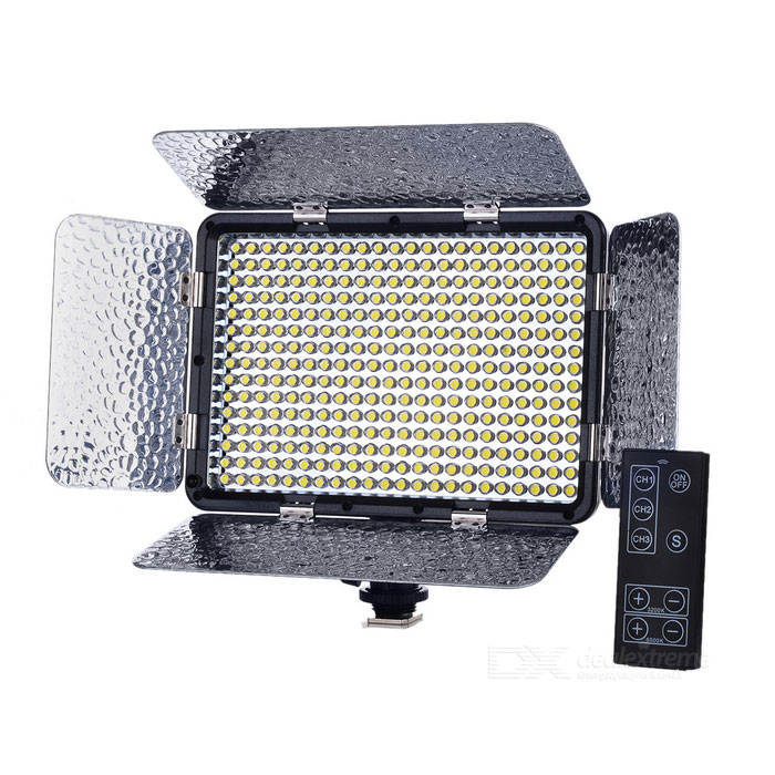 25W 2500lm 3200/5500K Video Light Camera Photography Lighting for sale in Bitcoin, Litecoin, Ethereum, Bitcoin Cash with the best price and Free Shipping on Gipsybee.com