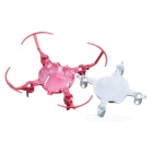 Øvre + Nedre Body Shell Cover for JJRC H30C Quadcopter - Rød + Silver