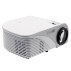 Portable 1080P HD LED LCD Projector Home Theater w/ HDMI - White
