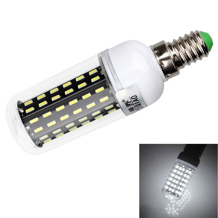 ZIQIAO YM4096B E14 8W LED Cold White Light Corn Bulb Spotlight