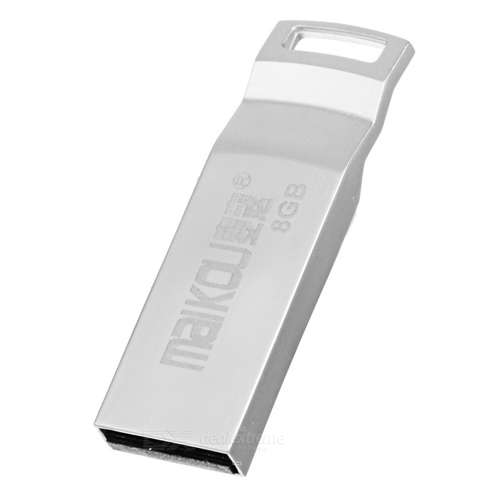 MAIKOU Portable High Speed ​​USB 2.0 Flash Drive - Silver (8GB)