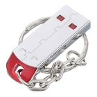 MAIKOU High Speed ​​USB 2.0 Flash Drive w / Key Ring - Argent (64GB)