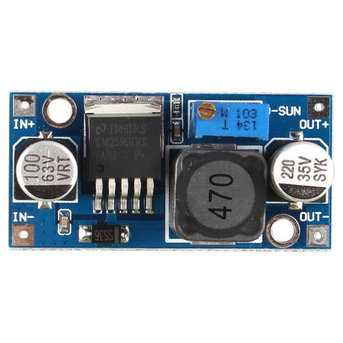 48V Step-down Module DC~DC 4 5~60V Switching Power Supply - Blue