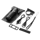 PINDO PD P-S6 Outdoor Sports Bike Speaker w/ TF Card Slot - Black
