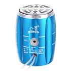PINDO PD M6L Outdoor Mini Bluetooth Speaker with FM, Mic - Blue+Silver