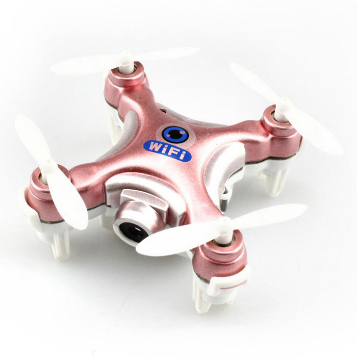 Cheerson CX-10W 6-Axis R/C Quadcopter w/ Wi-Fi - Rose Golden