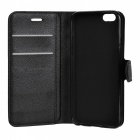 Lichee Pattern Protective Full Body Case for IPHONE 6 / 6S - Black